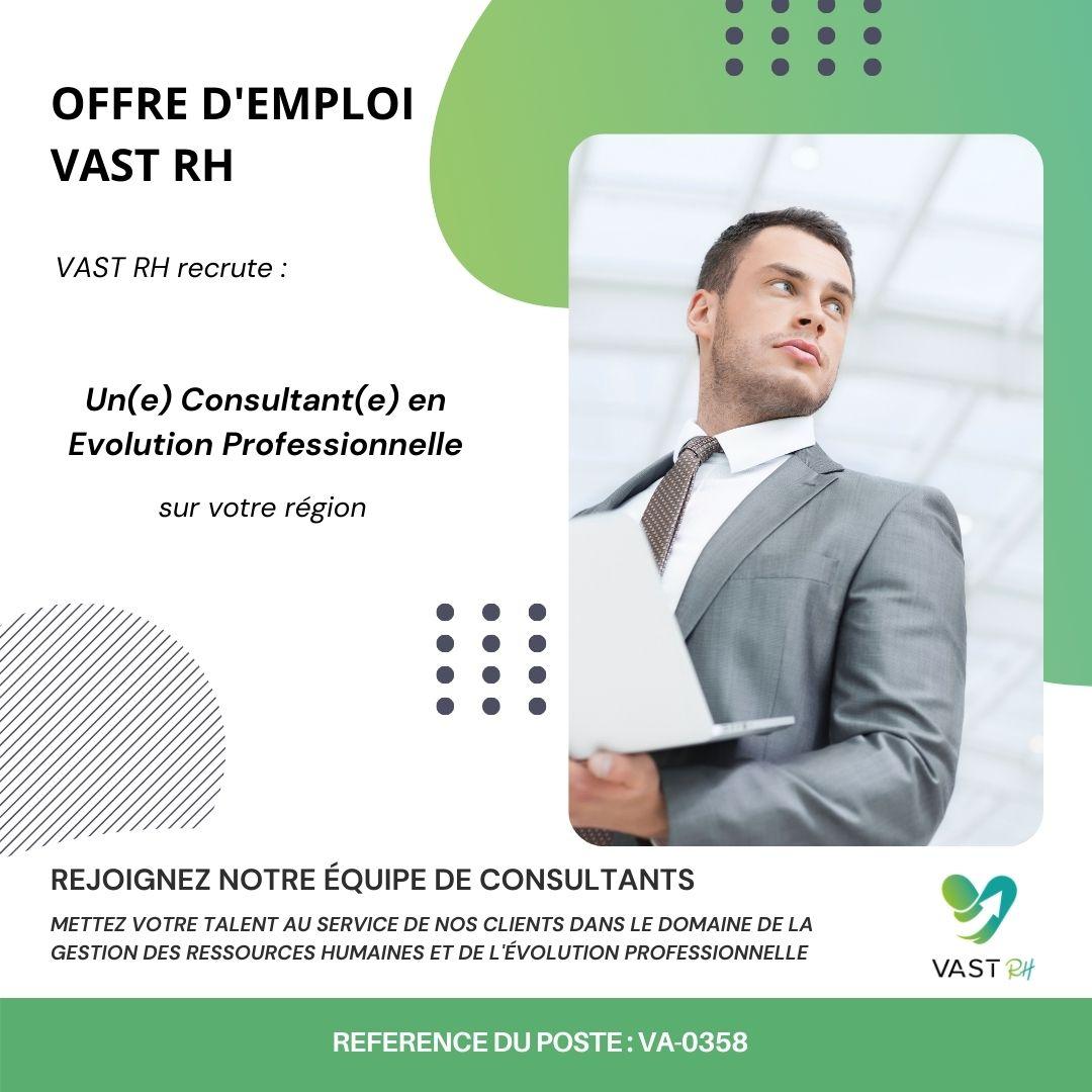 Offre d'emploi consultant en évolution professionnelle